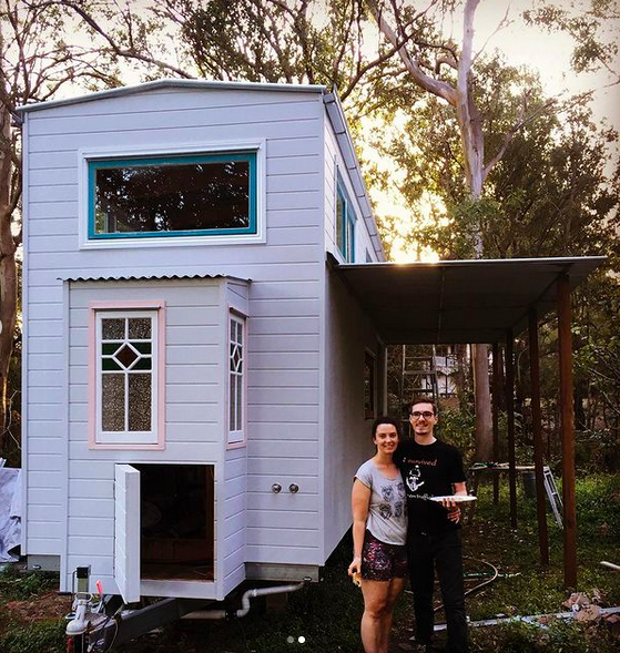 Candid Tiny House - Bree and Lucas