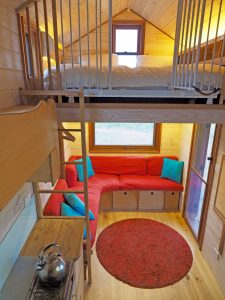 Stay in a tiny house on wheels