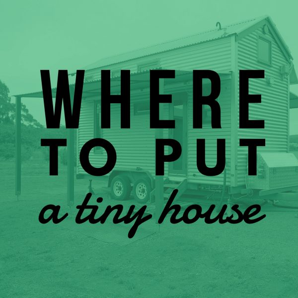 Tiny house council regulations workshop