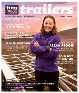 Get a Free 40 page Tiny House Trailer Magazine from Fred's Tiny Houses & Trailers.