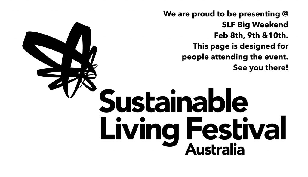 Tiny House at Sustainable living festival big weekend 2019