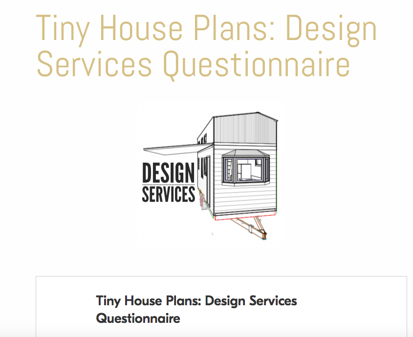 Australian Tiny House Plans Custom Made