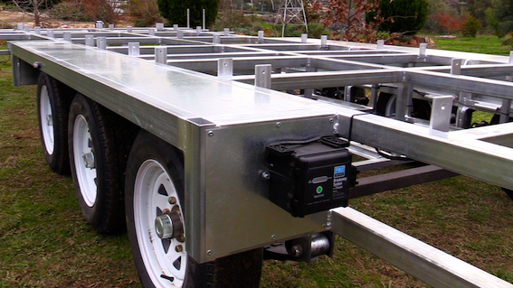 Tiny House Trailer for sale tri-axle flat top
