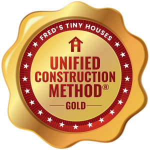 The Gold Unified Construction Method® is when the builder has used all 4 of the elements that make up the Unified Construction Method®.
