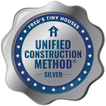 The Silver Unified Construction Method® is when the builder has used 3 of the 4 elements of the Unified Construction Method®