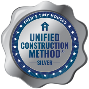 The Silver Unified Construction Method® is when the builder has used 3 of the 4 elements of the Unified Construction Method®.