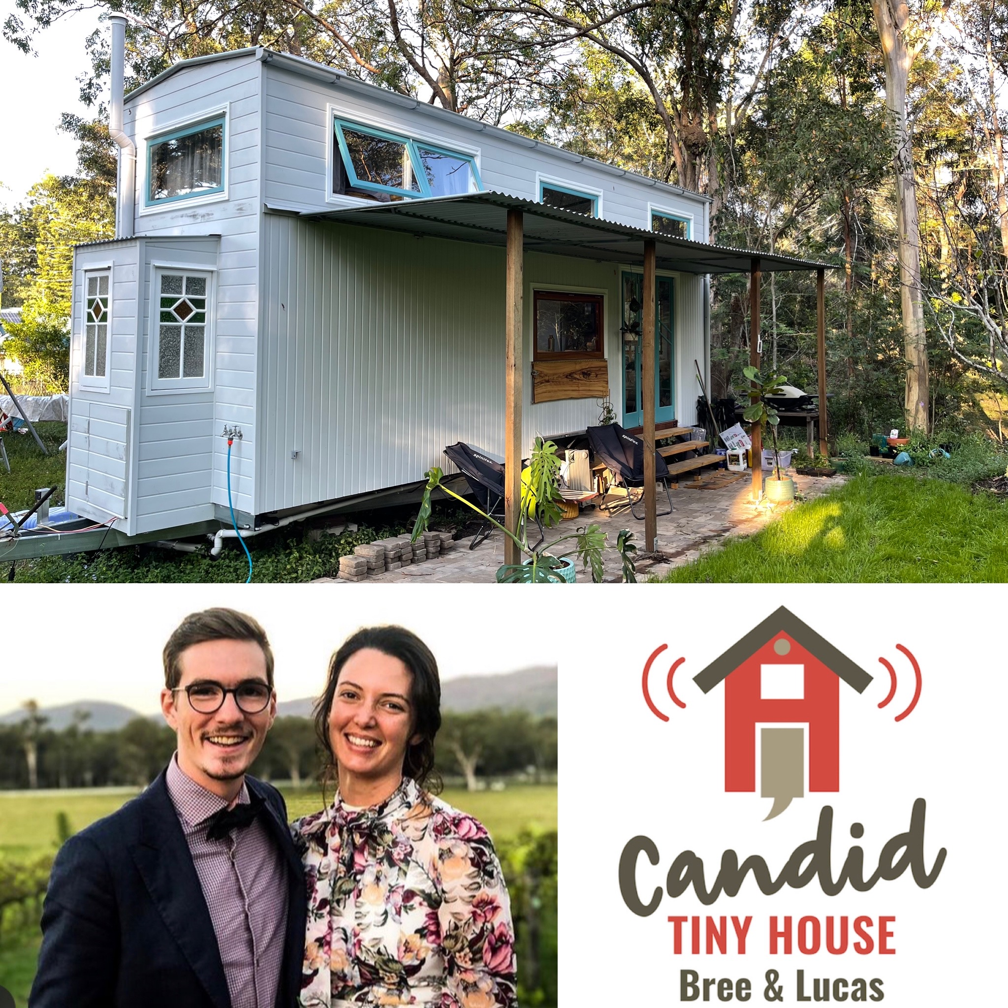Bree & Lucas Candid Tiny House
