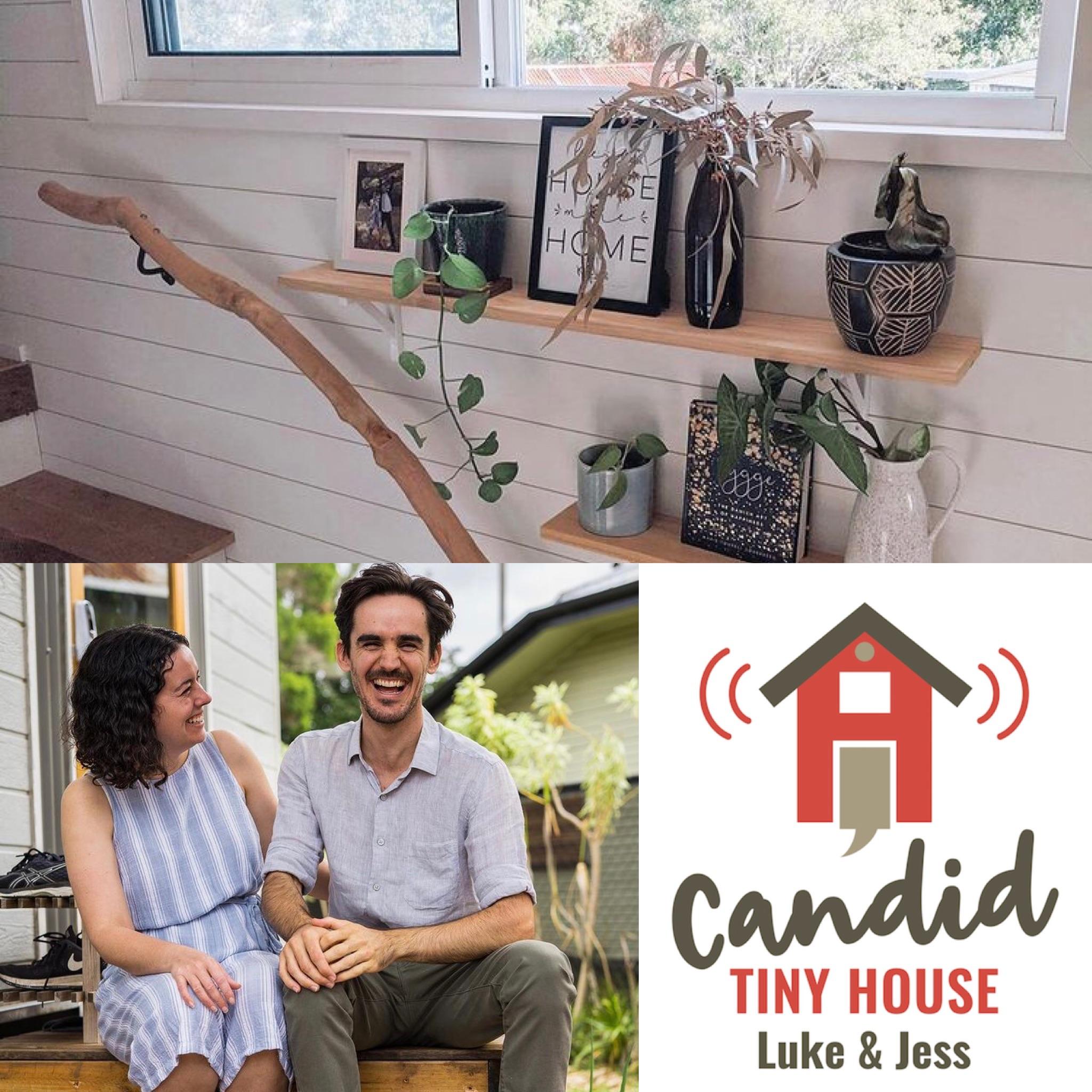 Luke and Jess Candid Tiny House